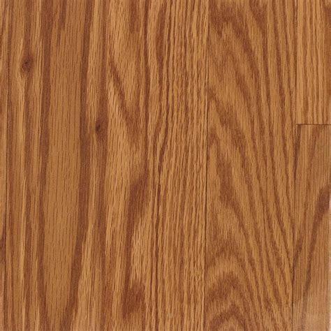 Shop allen   roth 7.48 in W x 3.93 ft L Gunstock Wood