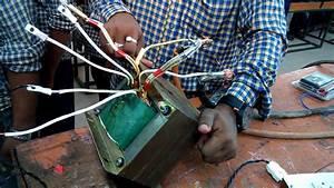 Miti Trainees Make Transformer Winding For Welding Machine