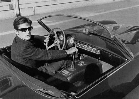 French actor alain delon drove a similar model when he was dating jane fonda. _CULT - la Ferrari 250 GT SWB California Spider de Alain ...