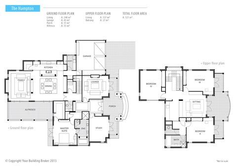 hamptons  storey luxury designer home