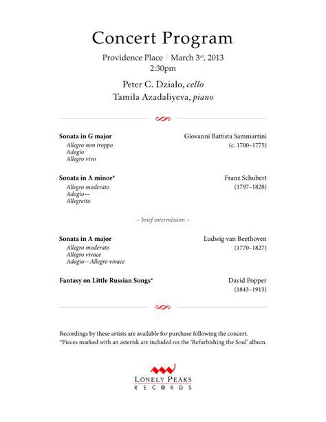 concert program template contact lpr