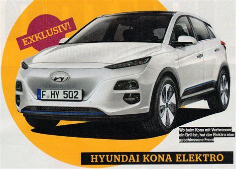 details   hyundai kona electric push evs