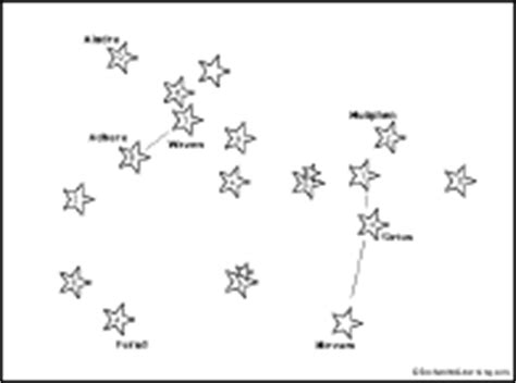 constellation of leo worksheet canis major connect the dots printout enchantedlearning