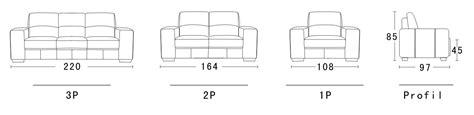 dimensions canapé canapé cuir belair