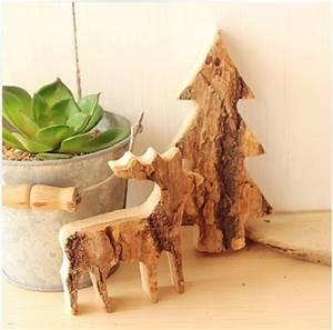 DIY Wood Reindeer Christmas Tree Ornaments,Christmas