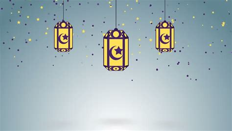 ramadan themed islamic background looped stock footage