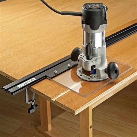 profile straight edge clamp system