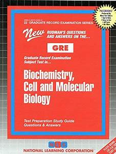 Biochemistry  Cell And Molecular Biology  Graduate Record