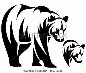 Bear Head Clipart Black And White | Clipart Panda - Free ...