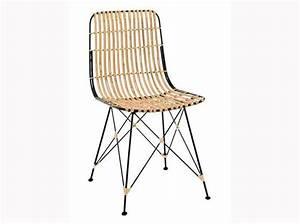 Chaises De Cuisine Fly Chaise Blanche Pieds En Multiplis
