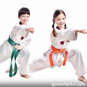 El Tae kwon do en la infancia