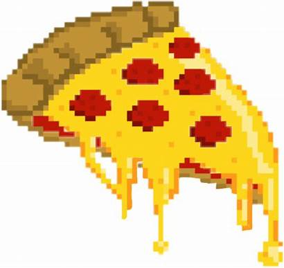 Pizza Aesthetic Cheese Pixel Hut Pixels Peper