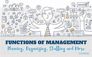 Functions of Management – Planning, Organizing, Staffing ...