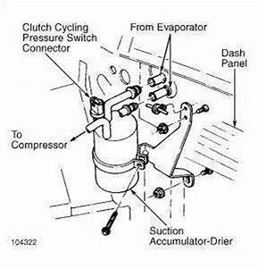Dodge Grand Caravan A C Low Pressure Switch Location