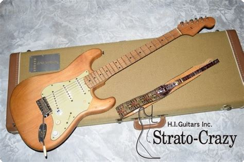 fender stratocaster  stripped natural guitar