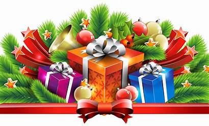 Presents Christmas Clipart Gifts Decor Gift Decorations