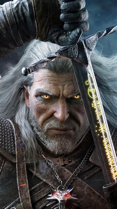 Geralt Rivia Witcher Hunt Iphone Wild Wallpapers