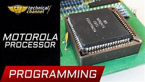 Motorola Processor Programming - How To Read  Change And Save
