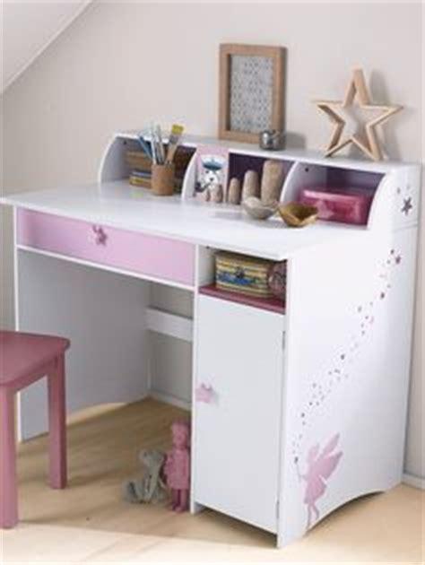 theme de bureau grand bureau fille blanc thème fée blanc violet