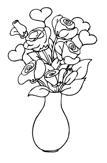 Coloring Bunga by Mewarnai Gambar Bunga Maksumwidodo S