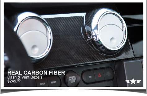 mustang carbon fiber dash vent