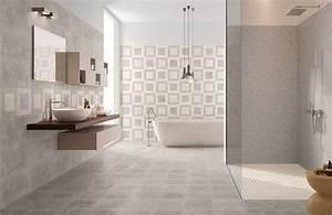 Ambiance Salle De Bain : carrelage de salle de bain jaipur grey porto venere ~ Melissatoandfro.com Idées de Décoration