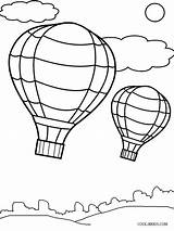 Balloon Coloring Air Template Pages Printable Drawing Balloons Cool2bkids Templates Preschool Ballon Sheets Craft Getdrawings Getcolorings Paintingvalley Ba sketch template