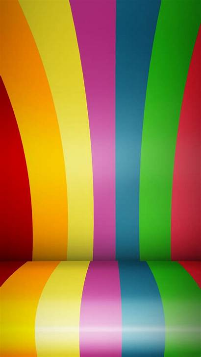 Lines Android Backgrounds Rainbow Lockscreen Cool Colorful