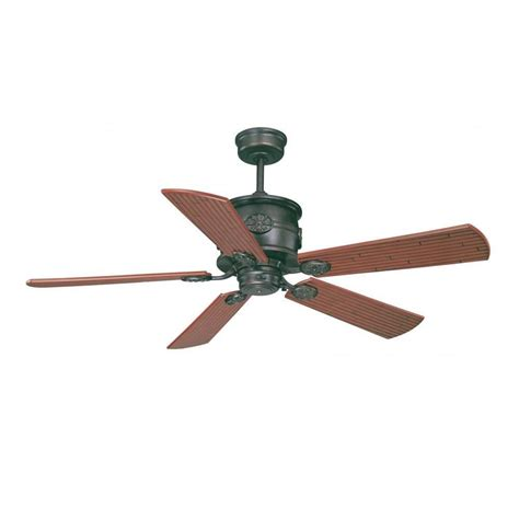 bronze outdoor ceiling fan illumine mcneir 52 in english bronze indoor outdoor