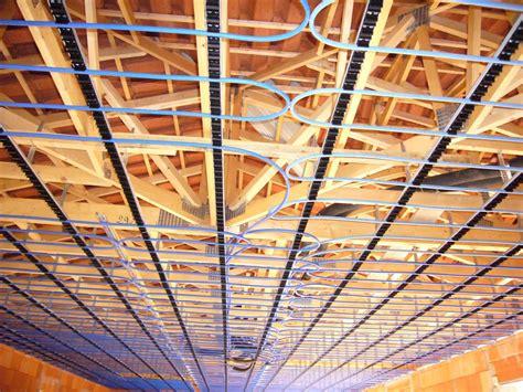 plafond chauffant avec pac pompe a chaleur chauffage plafond et geothermie