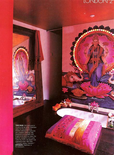 I Love This Exotic Indian Inspired Bathroom Diane
