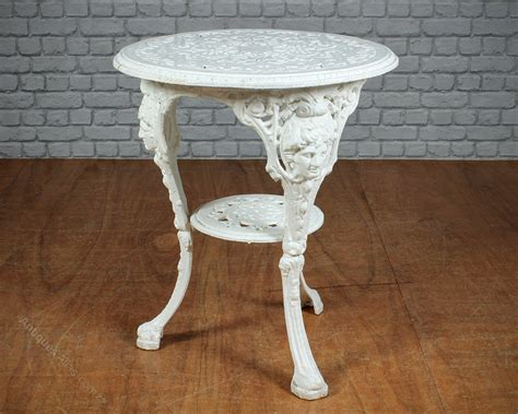 Victorian Cast Iron Garden Table C.1890 Buffalo Trace Antique 2017 Review Wooden Fire Surrounds Scotland Dining Tables Auckland Style Set Chairs White Bedroom Sets Canada Collection Uk 2016 Auction