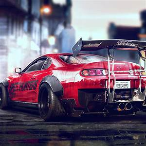 Wallpaper Toyota Supra, Sports car, Need for Speed