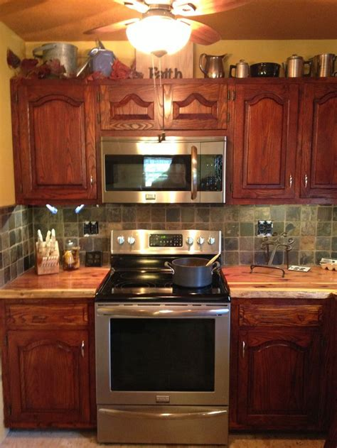 cedar wood kitchen cabinets my new cedar countertops home