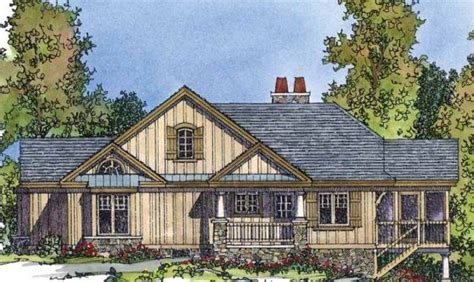 Top Photos Ideas Lake House Plans Sloping Lot House