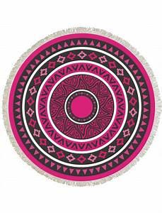 Serviette Ronde Eponge : serviette de plage ronde mandala ~ Teatrodelosmanantiales.com Idées de Décoration