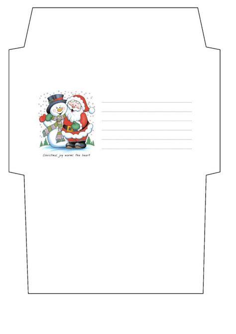 christmas envelope template  cpchocccc mikulassanta