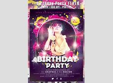 25+ Birthday Party Flyer Design, PSD Download Design