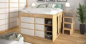 Il letto con soppalco: soluzione salvaspazio UnaDonna