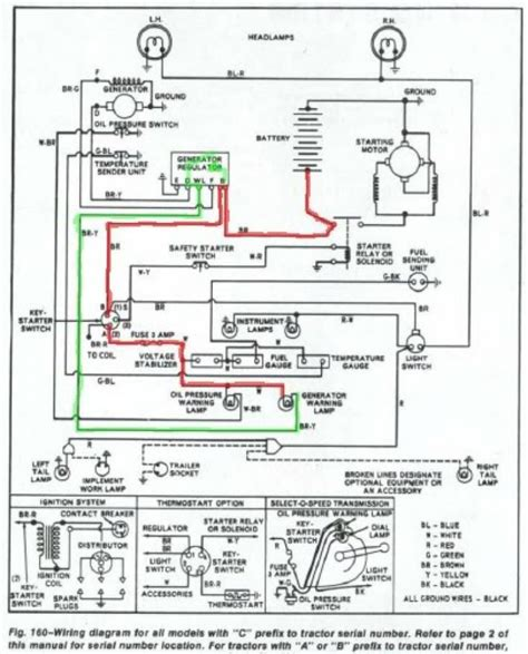 In 1942 Ford Tractor Wiring Diagram by Wiring Diagram For Ford 8n Tractor Tractors 1940 9n Parts