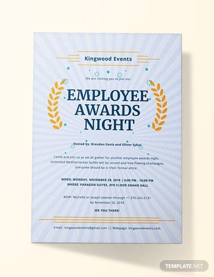 Award Invitation Invitation wording Invitations Event