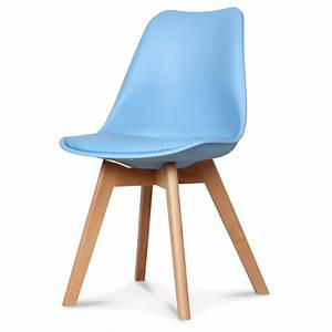 Chaise Bleu Scandinave : chaise design scandinave bleu adriatic scandy ~ Teatrodelosmanantiales.com Idées de Décoration