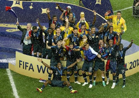 African Players Won The Fifa World Cup For France