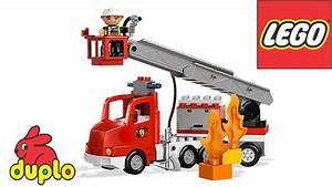 Lego Duplo Fire Truck 10592 Instructions For Kids  Ud83d Ude92 Bricks