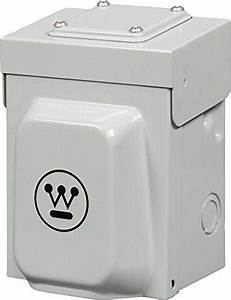Westinghouse Heavy Duty 30 Amp Power Inlet Box