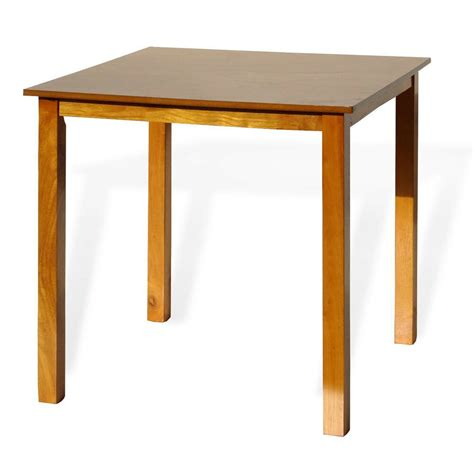 contemporary square dining kitchen solid wood table