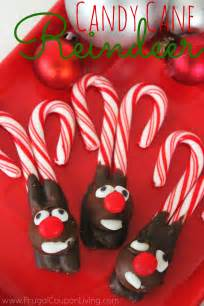 Christmas Candy Cane Reindeer Craft