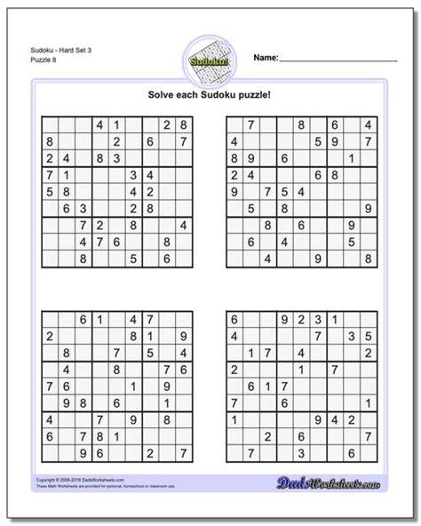 sudoku hard