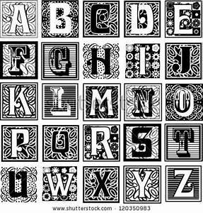 12 best images about drop caps on pinterest initials With decrative letters