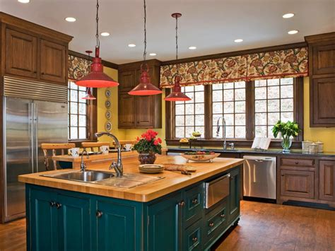 colorful kitchen design ideas  hgtv kitchen ideas